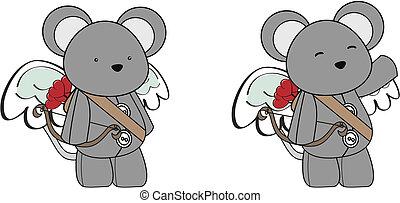 Dibujos de cupido de ratón