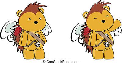 Dibujos de Cupido puercoespín