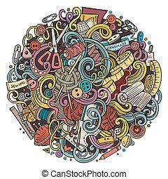 Dibujos de dibujos hechos a mano