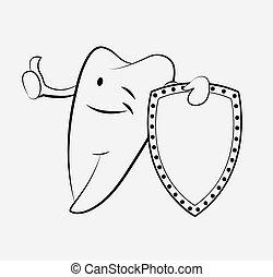 Dibujos de dientes