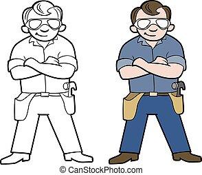 Dibujos de Handyman