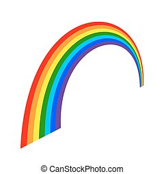 Dibujos de icono arcoíris 3