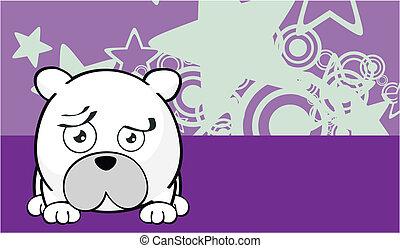 Dibujos de oso polar fondo 9