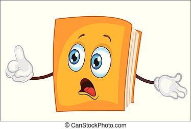 Dibujos de personajes de libros. ilustración de vectores.