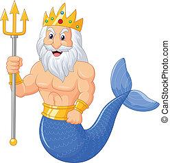 Dibujos de Poseidón