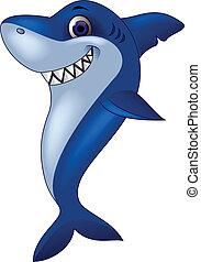 Dibujos de tiburón sonriente
