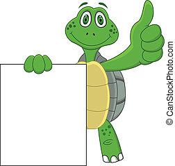 Dibujos de tortuga con pulgar hacia arriba