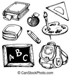 Dibujos escolares colección 1