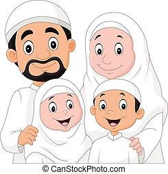 Dibujos familiares musulmanes
