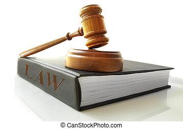 Dicción legal en un libro de leyes