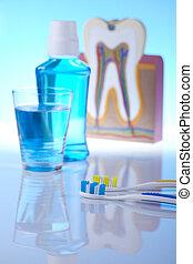 Dientes, objetos dentales