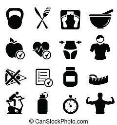 Dieta, aptitud y vida sana