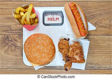 Dieta de comida rápida