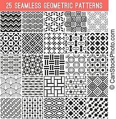 Diferente vector universal patrones sin costura