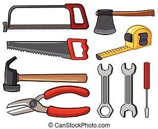 Diferentes tipos de herramientas
