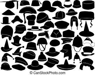Diferentes tipos de sombreros