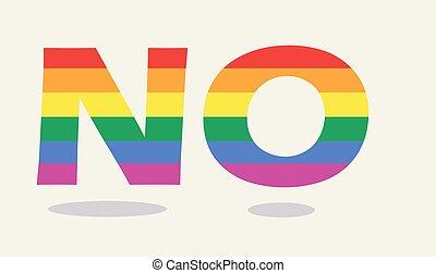 Dile que no al matrimonio gay
