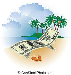 Dinero de vacaciones