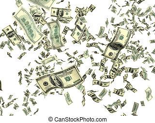 Dinero en blanco