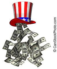 dinero, gobierno