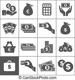 dinero, icono