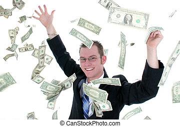 Dinero para hombres de negocios