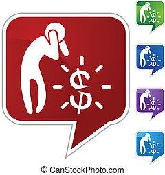 dinero, preocupación
