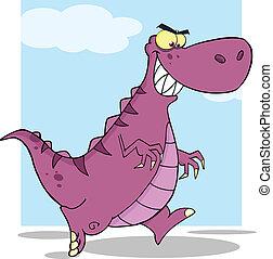 Dinosaurio dibujado