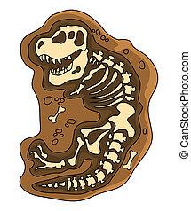 dinosaurios, fosil