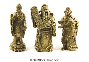 Dioses tradicionales chinos y deidades