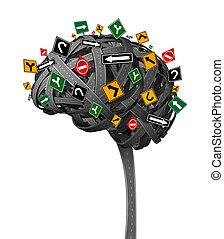 Dirección cerebral