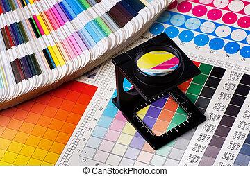 Dirección de color lista