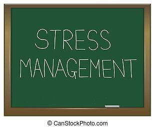 Dirección de estrés.