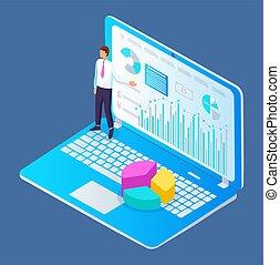dirección, el consultar, trabajo en equipo, empresa / negocio, análisis, informe, planificación financiera, proyecto, concepto