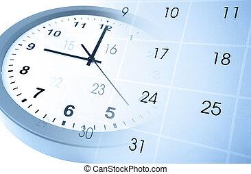dirección, tiempo