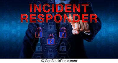 director, planchado, incidente, responder