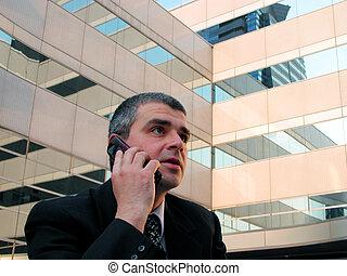 Discusión telefónica