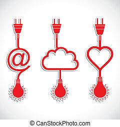 Diseñador creativo de corazón y c