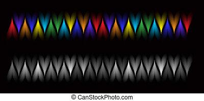Diseño abstracto del vector