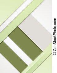 Diseño abstracto elegante