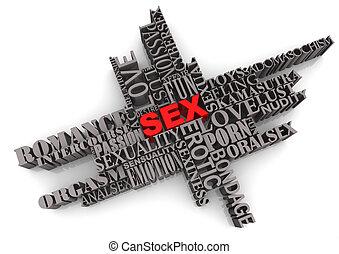 diseño abstracto, sexo