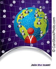 Diseño Brochure con elementos empresariales