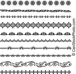 Diseño caligráfico antiguo