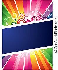 Diseño colorido