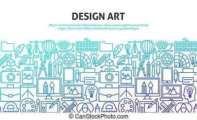 diseño, concepto, arte