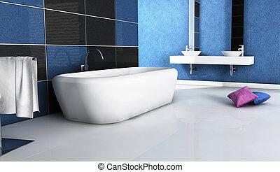 Diseño contemporáneo del baño