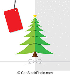 Diseño de árbol de Navidad