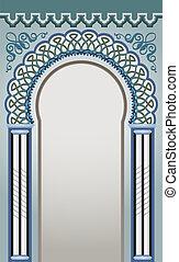 Diseño de arco decorativo