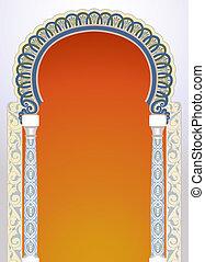Diseño de arco floral