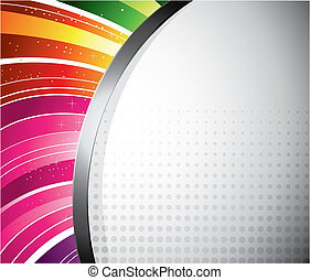 Diseño de arco iris